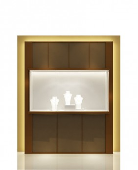 High End Wall Unit Display Case