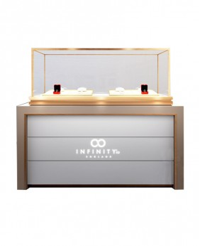 High End Luxury New Look Jewelry Showroom Counter Designs