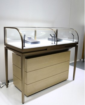 High End Jewelry Store Display Showcase Deign