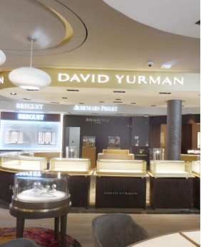 High End Jewellery Store Display Counter Design
