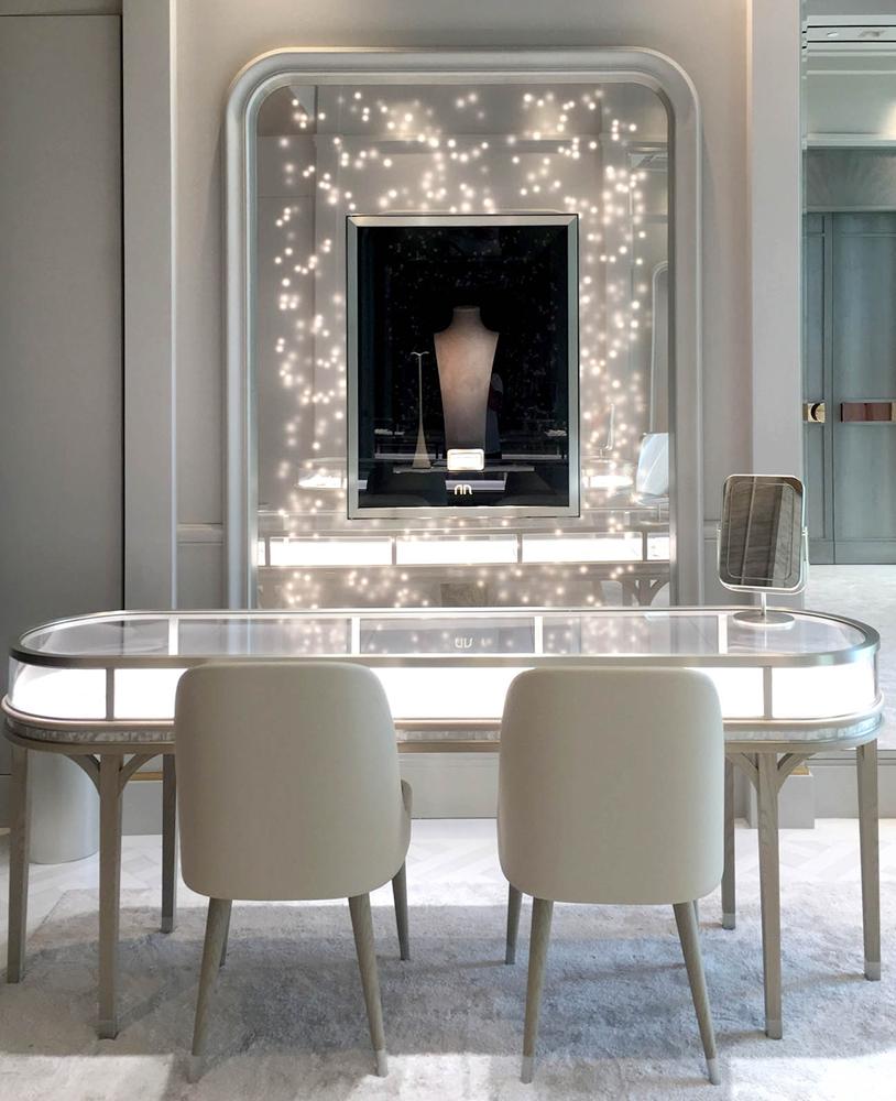 High Design Furniture: High End Luxury Jewellery Shop Furniture Design