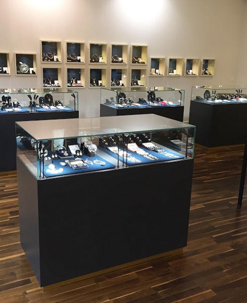 High end creative inclusive jewellery shop design