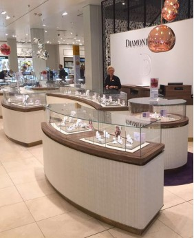High End Jewelry Store Display Cabinet Design