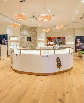 High End Jewellery Display Counter Design