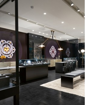 High End Jewellery Shop Decoration
