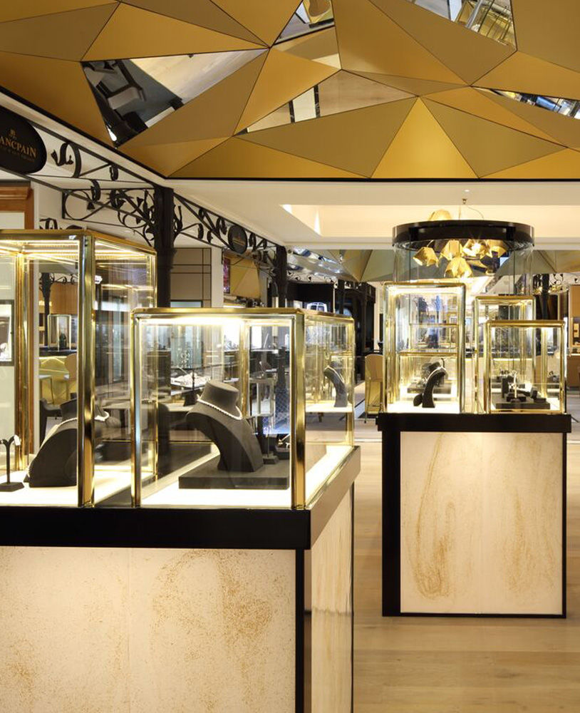 High End Luxury Jewellery Store Display Cabinets Jewelry