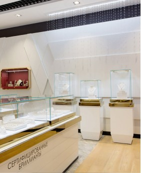 High End Jewelry Portable Jewelry Display Cases