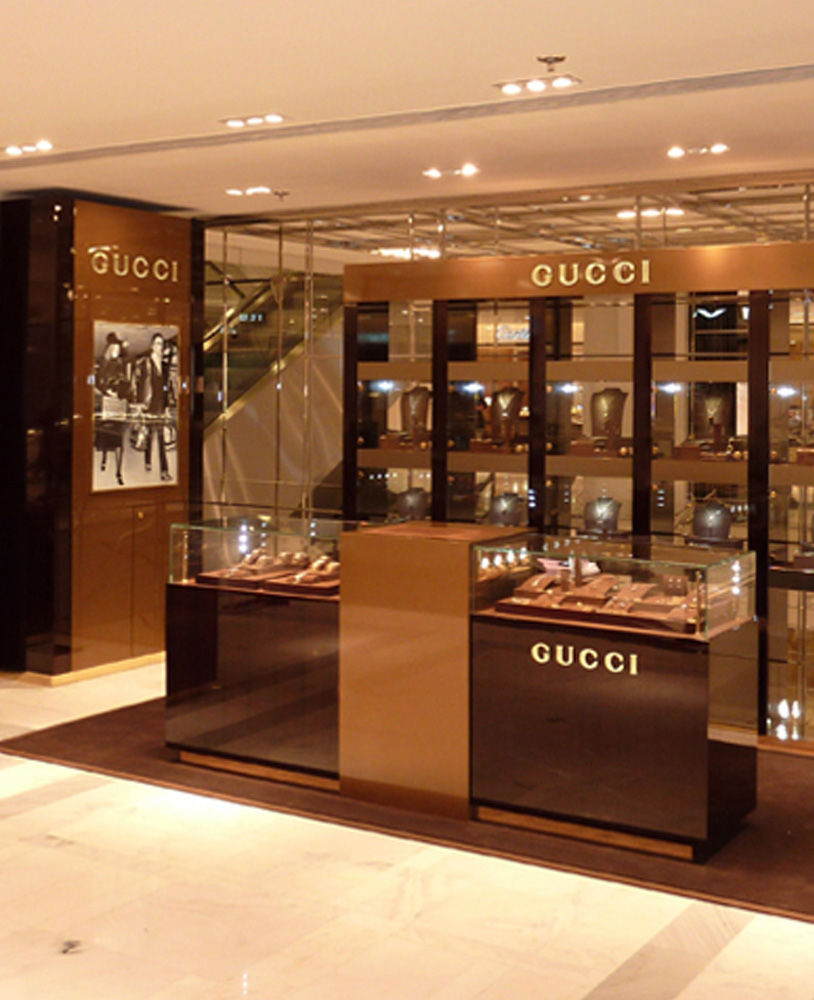High End Luxury Jewelry And Watch Display Cabinets