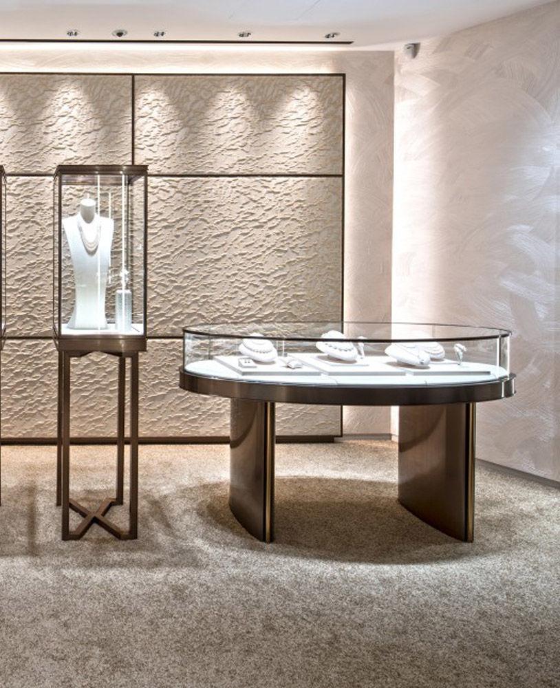 High End Luxury Jewelry Store Showcase Design | Jewelry ...