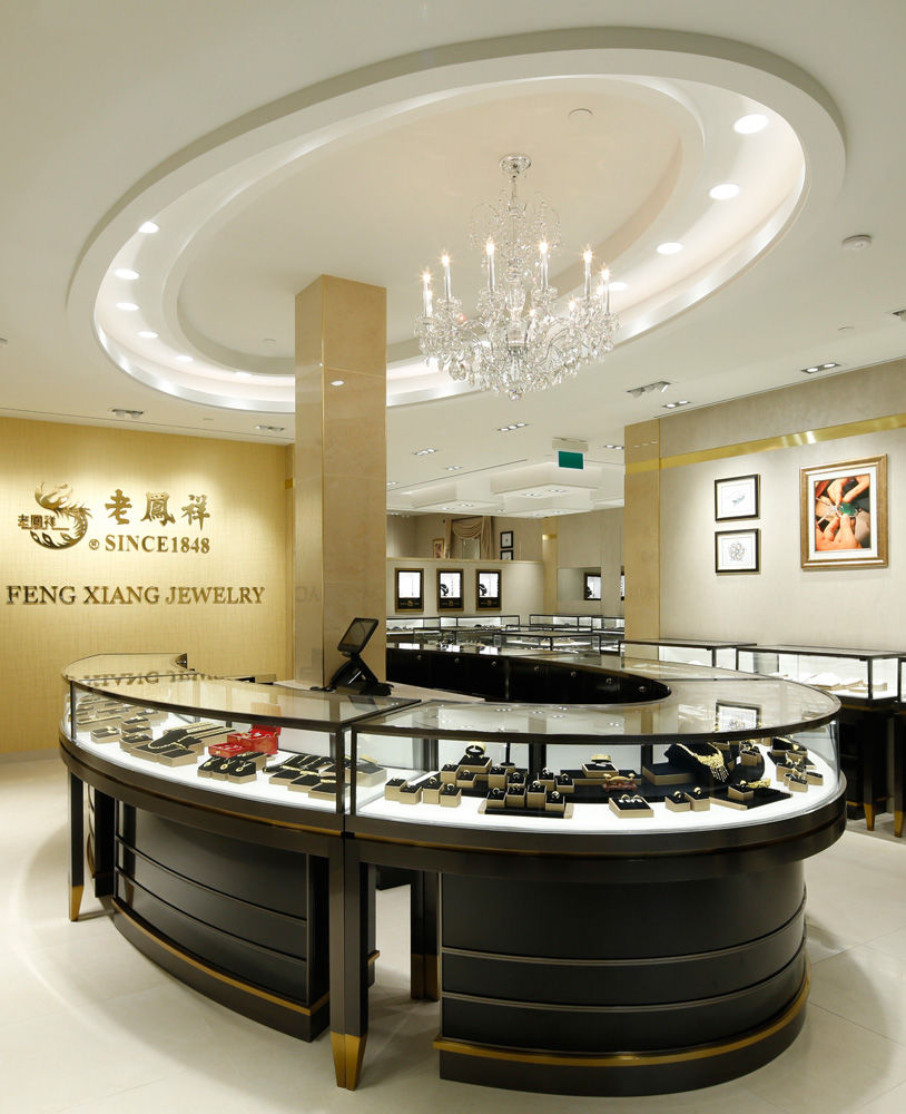 High End Luxury Jewellery Showroom Design