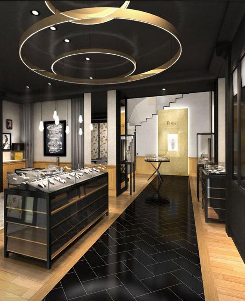 Luxury Watch Store Interior Design   Jewelry Showcase Depot