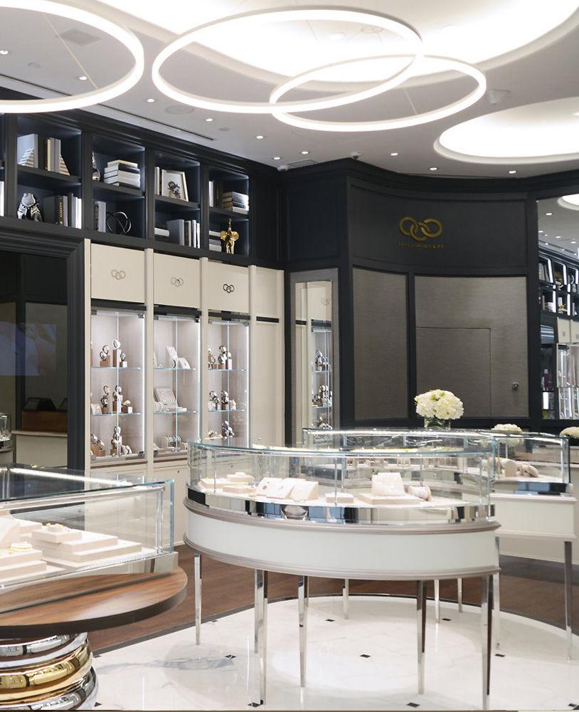 Retail Store Design Job Description: Modern Retail Jewelry Store Design