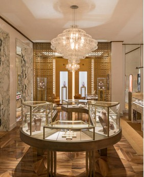 High End  Jewelry Store Display Showcases