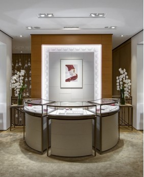 High End Jewellery Counter Design