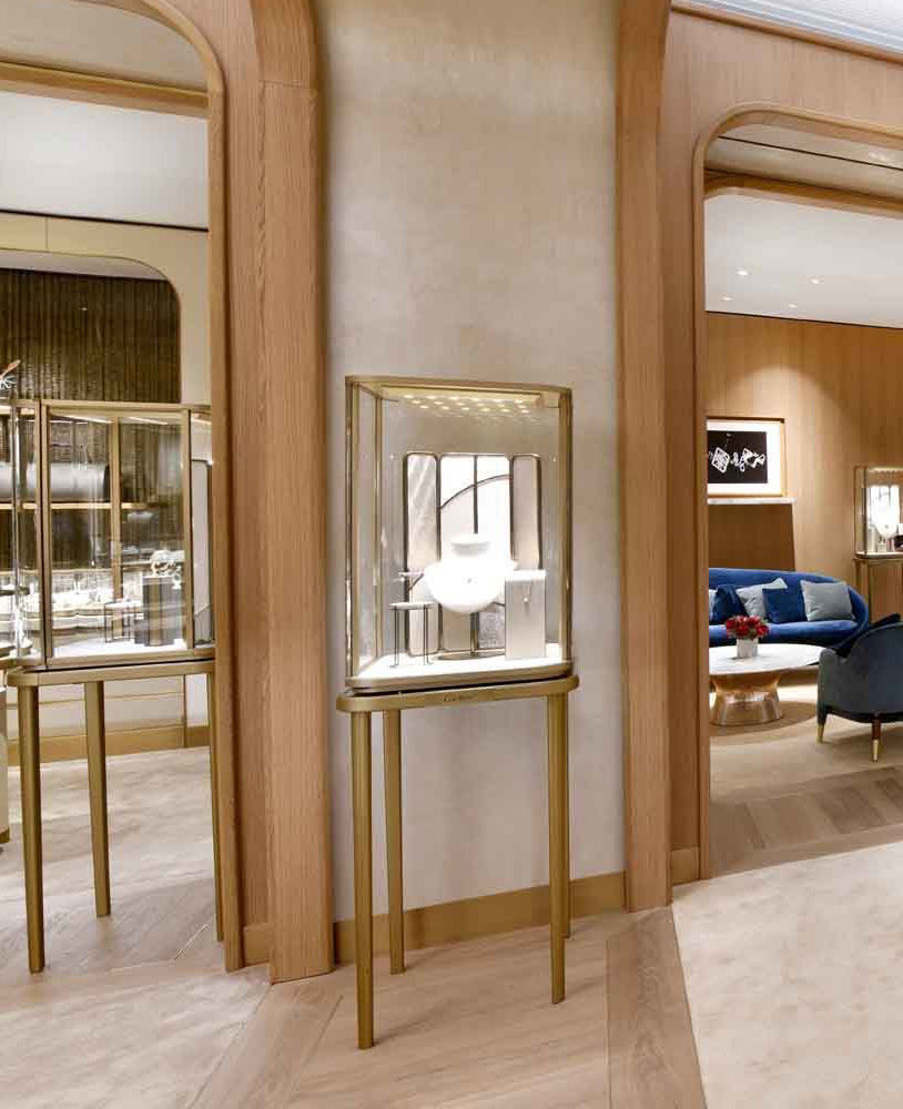 Creative Luxury Jewelry Store Interior Design Jewelry Showcase Depot