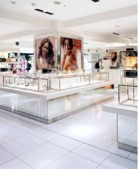 High End Display Cases For Jewelry Store