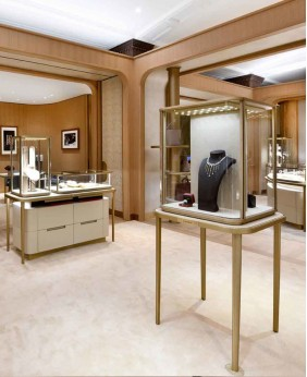 Creative Luxury Jewelry Store Interior Design