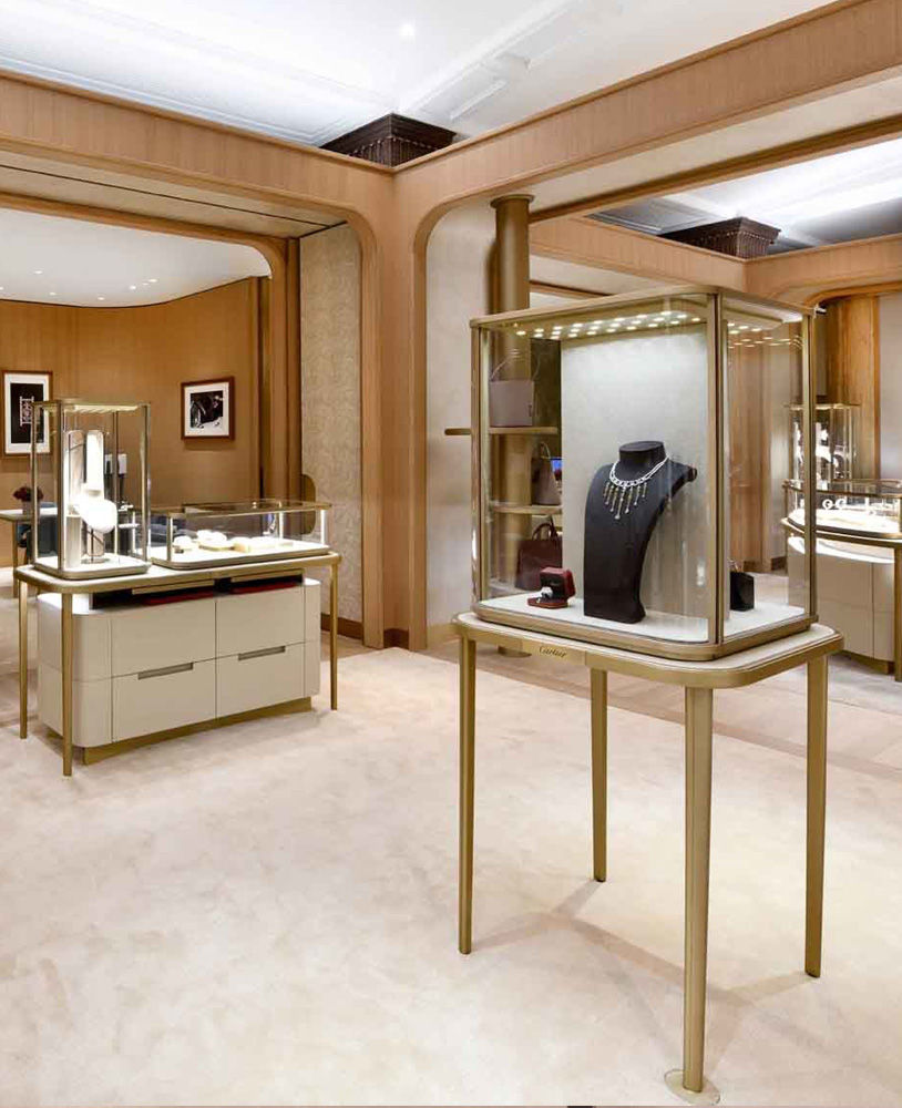 Shop Interior Design: Creative Luxury Jewelry Store Interior Design