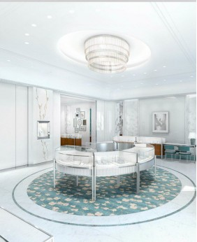 Brand New Jewellery Showroom Counter Designs