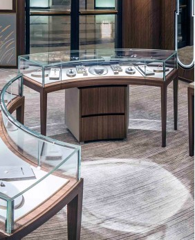 High End Jewellery Retail Display Cases