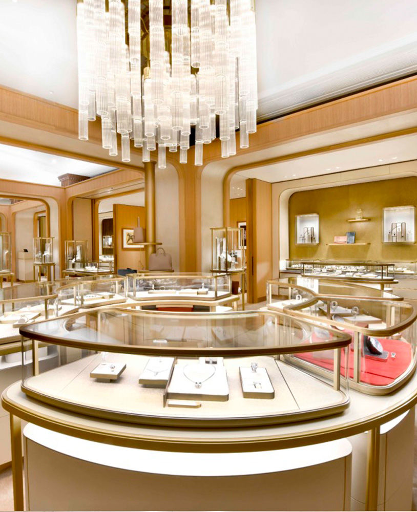 Luxury Interior Design Services: Creative Luxury Jewelry Store Interior Design