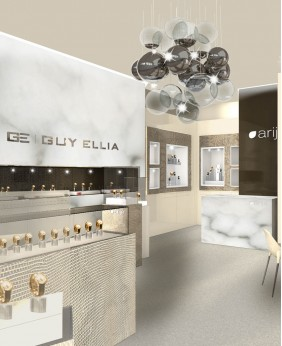 High End Jewellery Showroom Display Designs
