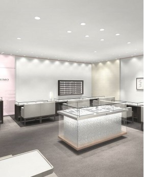High End Custom Jewelry Store Displays