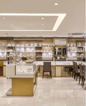 High End Jewellery Shop Display Counter Design