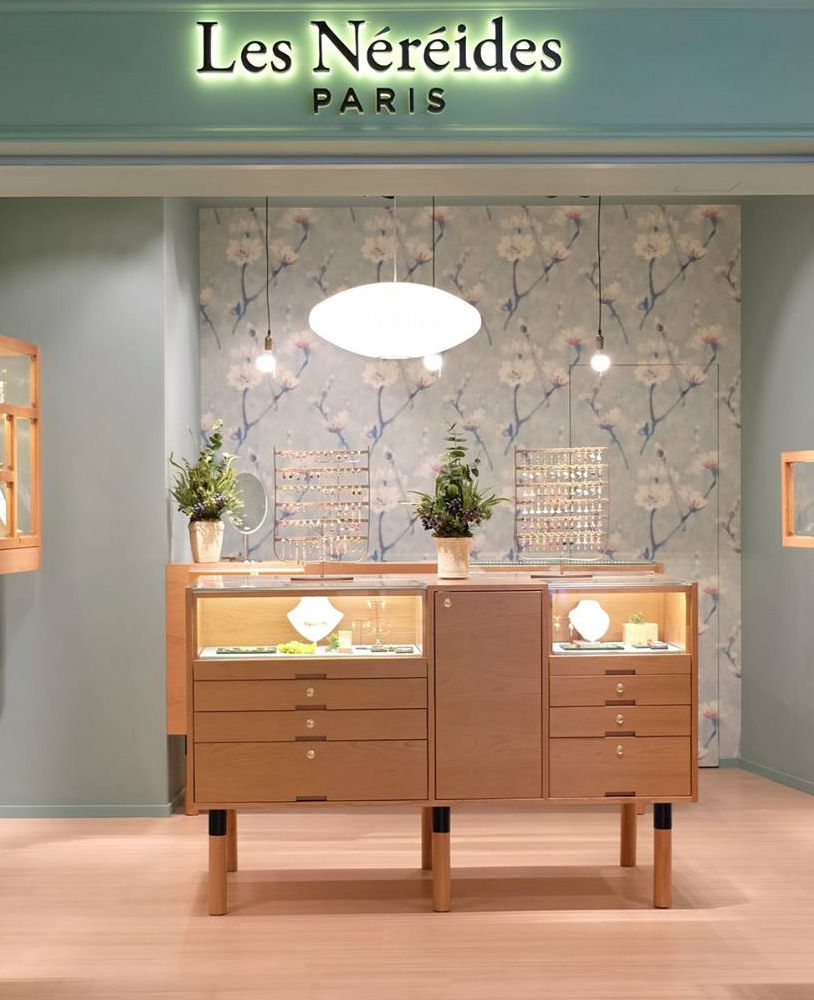 High End Jewelry Store Display Cabinet | Jewelry Showcase ...