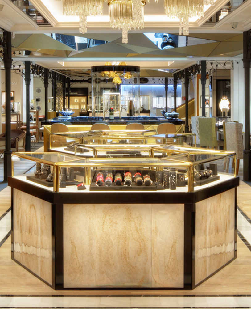 High End Luxury Jewellery Store Display Cabinets | Jewelry ...