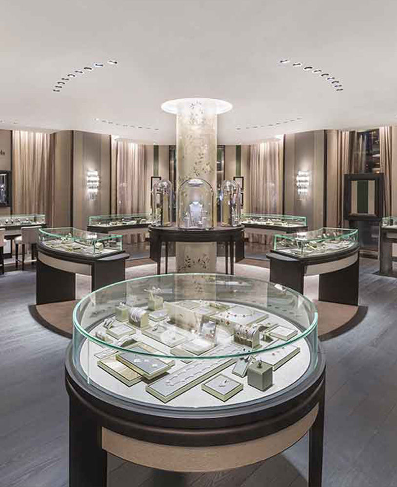 High End Display Counter Design For Jewellery Shop Jewelry