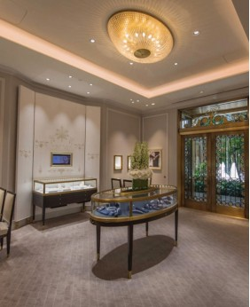 High End Display Cabinets For Jewelry