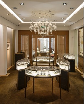 High End Jewellery Shop Design