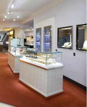 Luxury Retail Watch Display Cabinet