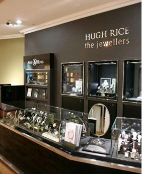 Luxury Retail Watch Store Display Showcase