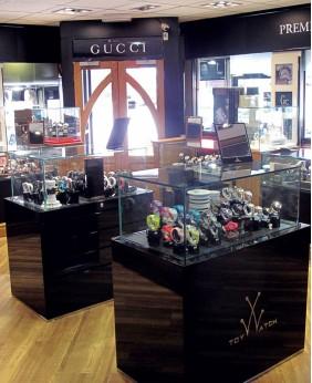 Luxury Retail Watch Shop Showcase Display Cabinet