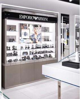 Luxury Retail Watch Shop Showcase