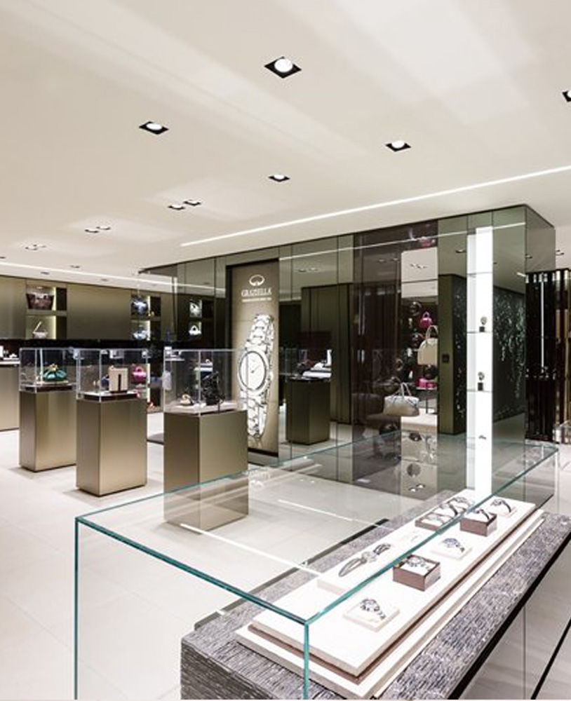 Luxury Jewelry Retail Display Case Jewelry Showcase Depot