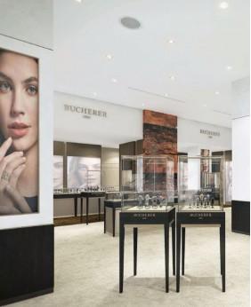 Luxury Watch Store Display Showcase