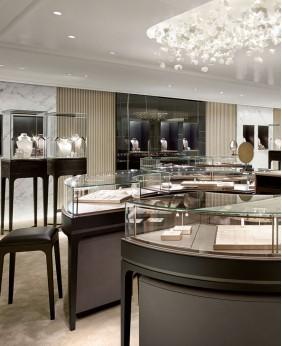 Floor Standing Jewellery Display Cabinet