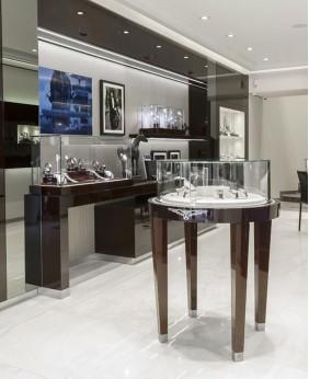 Watch Display Cabinet Design