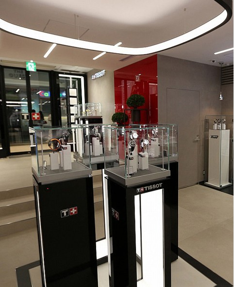 Watch Retail Store Display