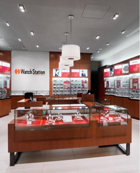 Luxury Retail Wooden Watch Shop Design
