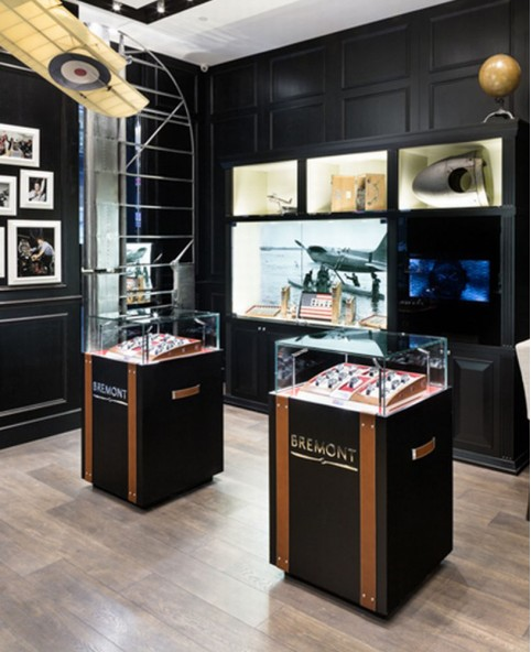 Luxury Retail Wooden Watch Store Design
