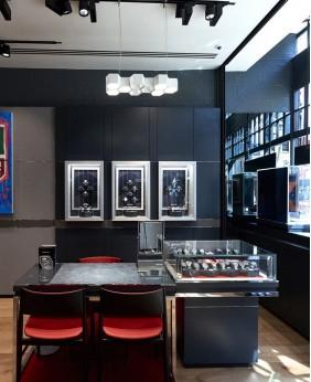 Luxury Retail Wooden Watch Store Display Case