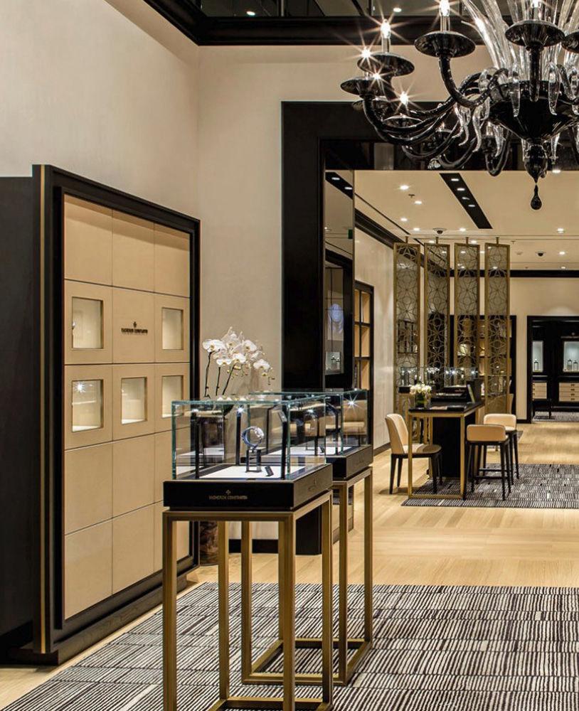 Shop Design: Watch Store Display Furniture