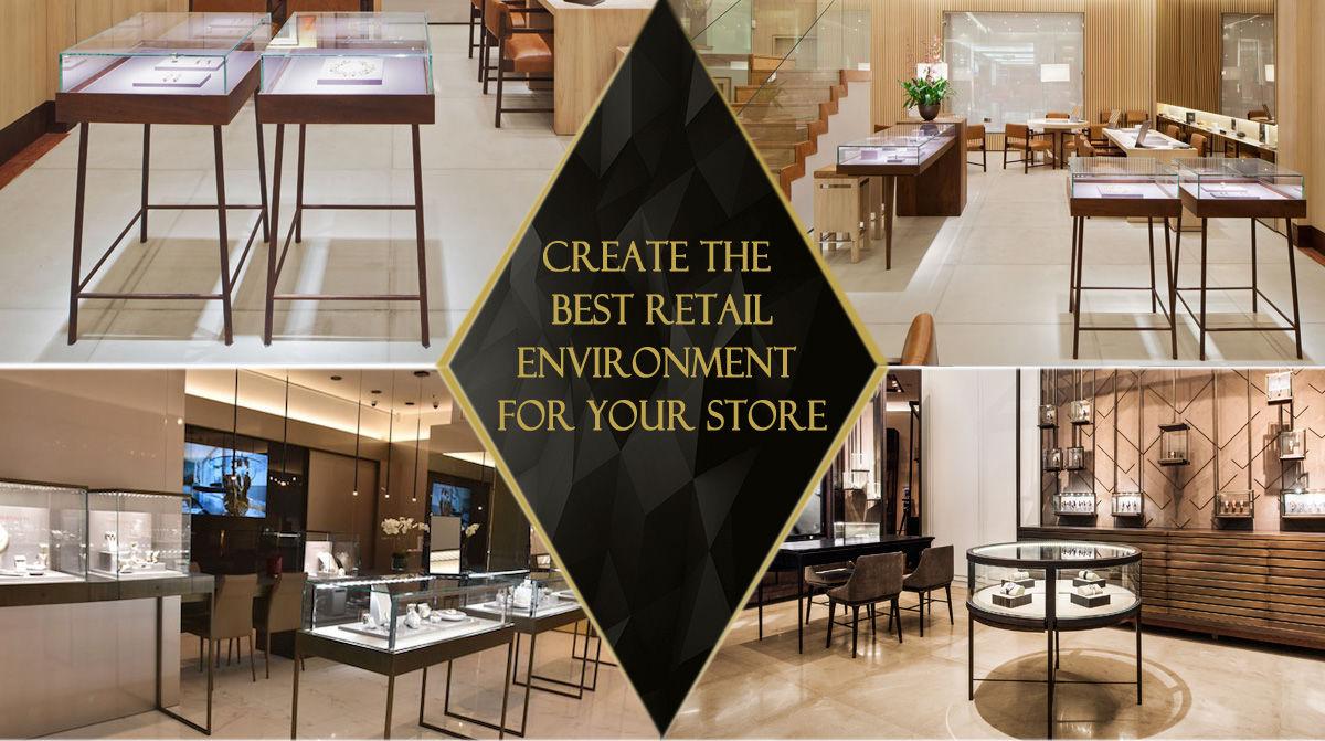Creative Jewellery Shop Interior Design Jewelry Showcase Depot